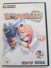 PC DVD-Rom Spiel Worms 3D