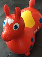 Rody Max - Hüpfpferd Sprungpferd orange
