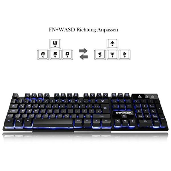 DB POWER Gaming Tastatur