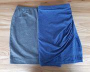 Kleiderpaket Damenröcke blau und grau