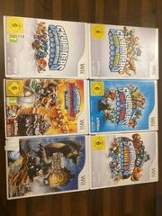 6 Spiele Nintendo WII Spiele