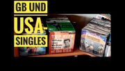 Single-Schallplatten GB USA 50 60