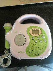 Kinderradio mit Karaoke Funktion