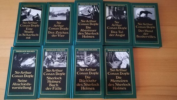 Sherlock Holmes Werkausgabe in neun