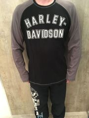 Harley Davidson Langarmshirt Größe M