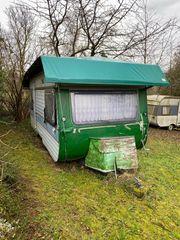2 alte Wohnwagen zu verschenken