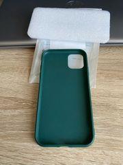 Iphone 11 Hülle dunkelgrün