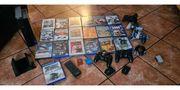 Playstation 2 mit 20 Spielen