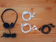 4 Kopfhörer InEar Kopfhörer Headset