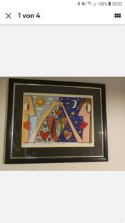 James Rizzi LOVE IS IN