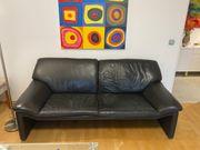 2 LederSofa 3 Sitzer Couch
