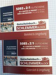 Schlemmerblöcke Gutscheinbücher 2021 für Gütersloh