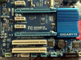 Mainboards, CPUs, Speicher - GIGABYTE GA-Z77-D3H Mainboard Incl 8
