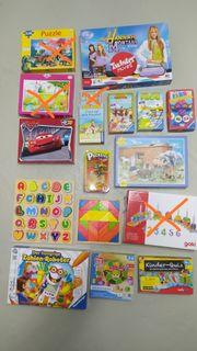 Kinderspiele Puzzles Reisespiel TipToi Rechenroboter