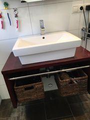 Badmöbel Set Waschbecken Unterschrank uss