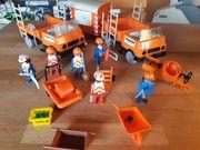 Playmobil Baustelle Vintage Konvolut