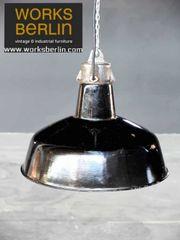 Klassische emaillierte vintage Industrielampen - worksberlin