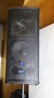 PA-Anlage mit Multicore Stagebox