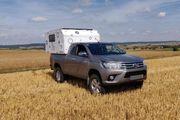 Toyota Hilux - mit Wohnkabine