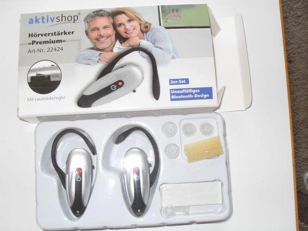 Hörverstärker Premium 2 er Set