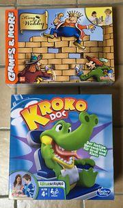 Krokodiel Doc KingWobby neu