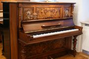 Klavier Simon Nußbaum Wurzelholz wunderschönes