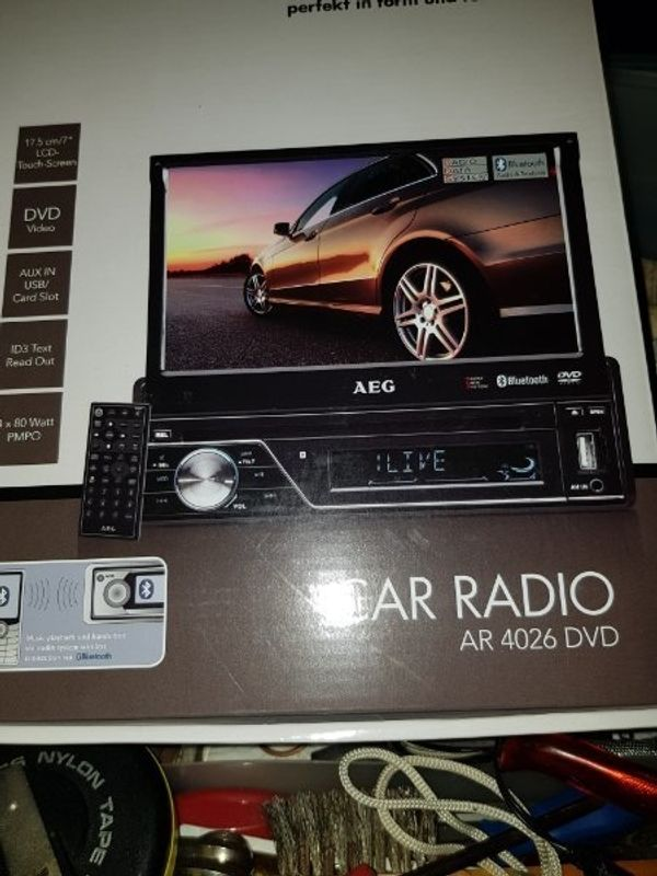 Autoradio mit gr Display