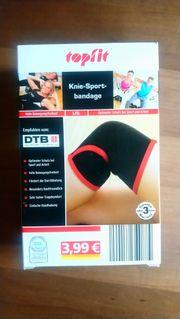 Knie-Sportbandage - neu