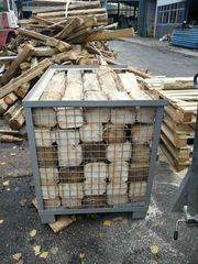 Brennholz Mischholz Nadelholz Palettenholz