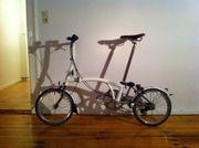 Brompton S2L-X Fahrrad weiß Titan