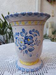 Neuwertige nostalgische Keramikvase