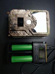 Wildkamera mit SD Karte Akkus