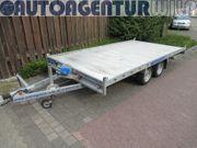 Plattformanhänger Multitranporter Ladefläche 4x2m Anhänger
