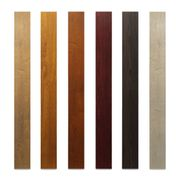 Aluminiumprofil 80x80x2 eckig Rohzustand Holzimitation -