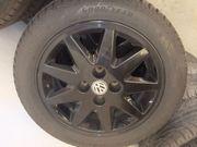 Winterreifen mit Alufelgen für VW