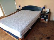 Doppelbett 160x200 cm Kiefer mit