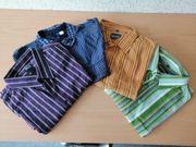 4 langarm Herrenhemden