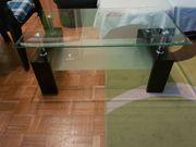 Glasplatte-Tisch zu verkaufen