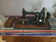 Antiquität Nähmaschine von Wertheim