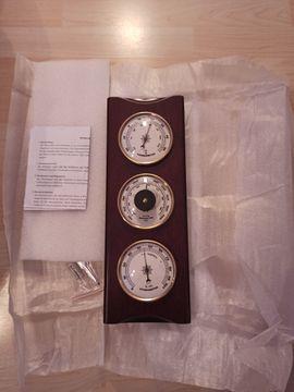 Originalverpackte Wetterstation aus Echtholz für: Kleinanzeigen aus Nürnberg St Johannis - Rubrik Elektronik