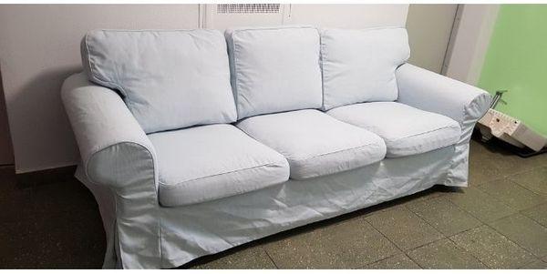 Ikea Ektorp Sofa in hellblau