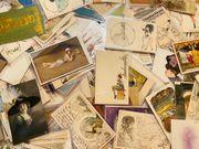 Ankauf Jugendstil Postkarten in NRW