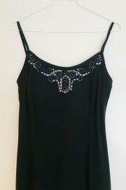 Verkaufe schwarzes Abend- Kleid mit