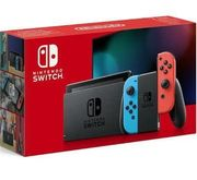 Nintendo Switch in rot blau -