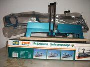 Präzisions-Gehrungssäge - E Top Werkzeuge - mit
