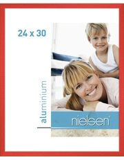 neu originalverpackt Nielsen-Bilderrahmen Tornado Rot