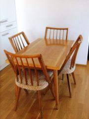 Esstisch mit 4 stühlen original