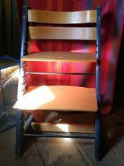 Seltener HAUCK Kinderhochstuhl - Treppenhochstuhl aus