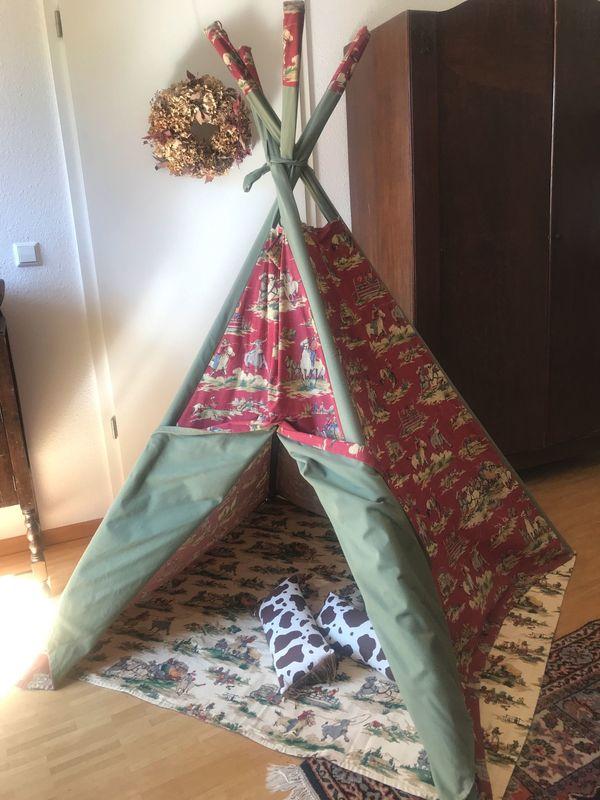 Wilder Westen Indianerzelt Wigwam indoor