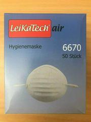 50 Stück LeiKaTechAir Hygienemasken